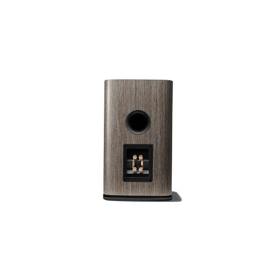 HDI-1600 - Grey Oak - 2-way 6.5-inch (165mm) Bookshelf Loudspeaker - Back