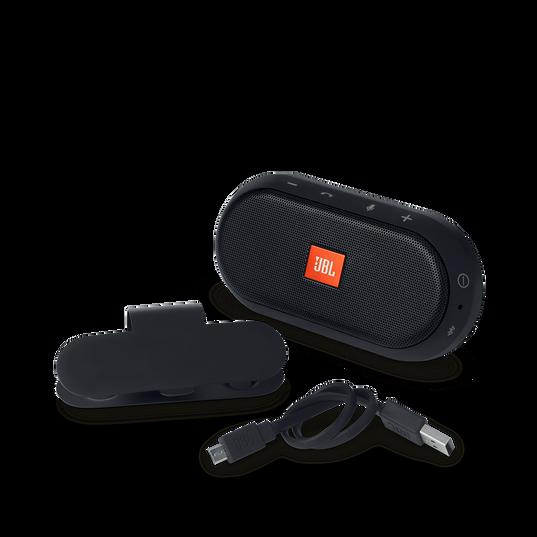 JBL Trip - Black - Visor Mount Portable Bluetooth Hands-free Kit - Detailshot 7
