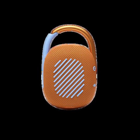 JBL CLIP 4 - Orange - Ultra-portable Waterproof Speaker - Back