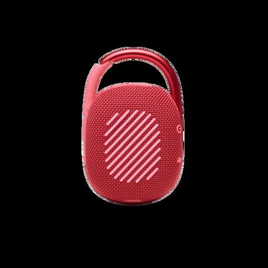 JBL CLIP 4 - Red - Ultra-portable Waterproof Speaker - Back