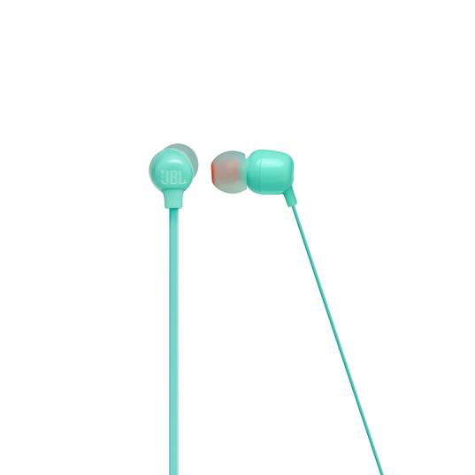 JBL TUNE 115BT - Teal - Wireless In-Ear headphones - Front
