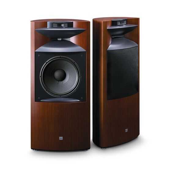"K2 S9900 - Zebra wood - 3-way 15"" (380mm) Floorstanding Loudspeaker - Hero"