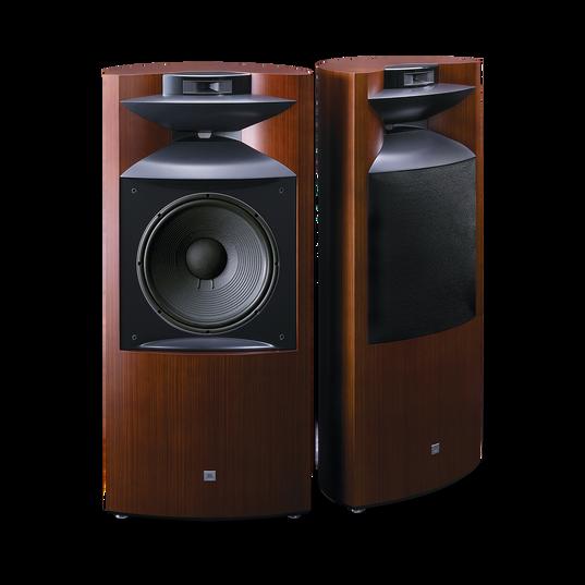 """K2 S9900 - Zebra wood - 3-way 15"""" (380mm) Floorstanding Loudspeaker - Hero"""