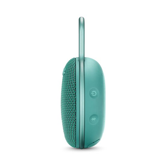 JBL CLIP 3 - River Teal - Portable Bluetooth® speaker - Detailshot 2