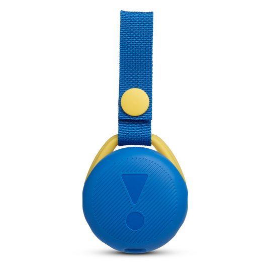 JBL JR POP - Cool Blue - Portable speaker for kids - Back