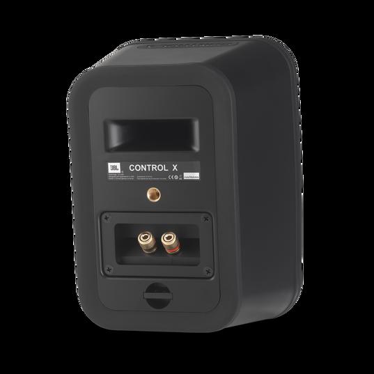 """JBL Control X - Black - 5.25"""" (133mm) Indoor / Outdoor Speakers - Back"""