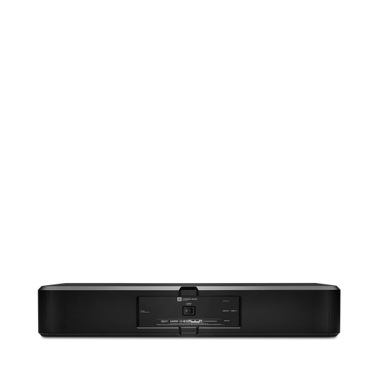 JBL Cinema Base - Black - Home cinema 2.2 all in one soundbase for television - Back