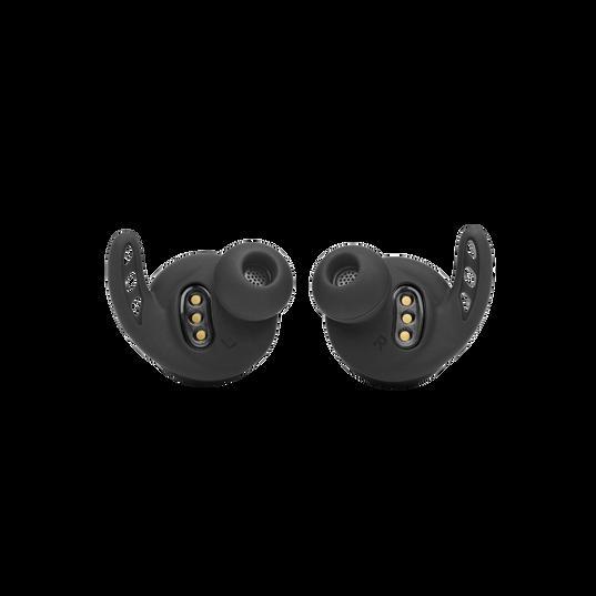 UA Project Rock True Wireless X - Engineered by JBL - Black - In-Ear Sport Headphones - Detailshot 1