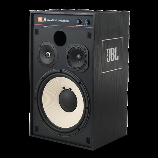 4312SE - Black - JBL 4312SE Studio Monitor Bookshelf Loudspeaker - Detailshot 1