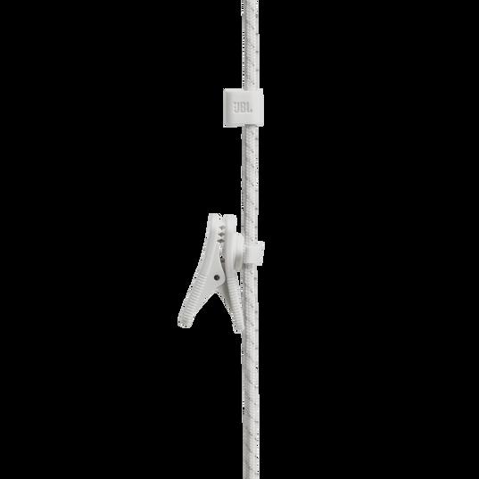 UA Sport Wireless PIVOT - White - Secure-fitting wireless sport earphones with JBL technology and sound - Detailshot 4