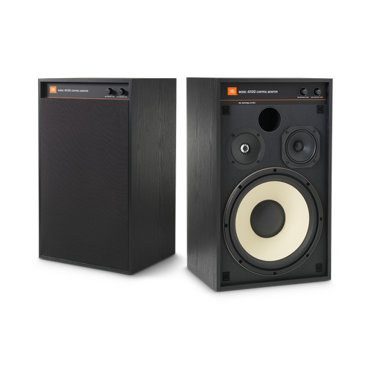 4312G - Black - 12-inch (300mm) 3-way Studio Monitor Bookshelf Loudspeaker - Hero