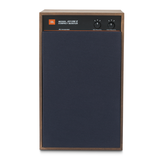 "4312MII - Brown - 5.25"" 3-way Studio Monitor Loudspeaker - Detailshot 2"