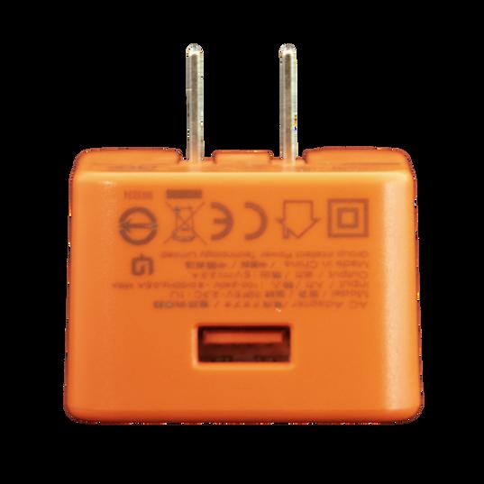 JBL USB AC adapter 5V/2.3A - Orange - Front
