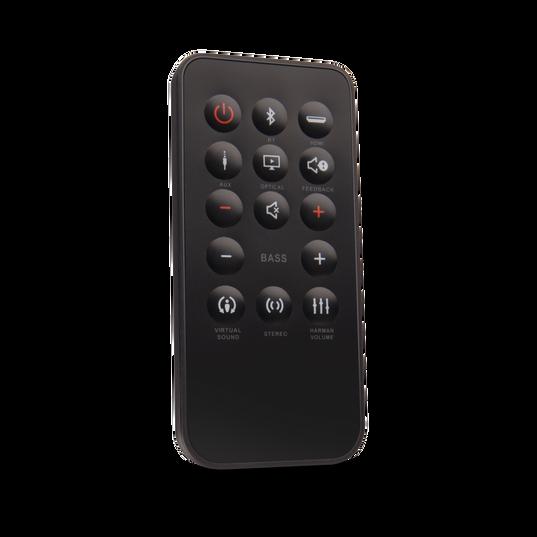 JBL Cinema Base - Black - Home cinema 2.2 all in one soundbase for television - Detailshot 3