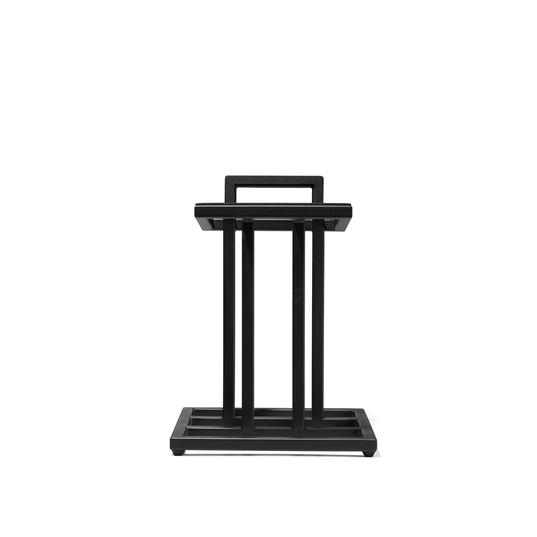 JS-80 Floorstand - Black - Accessory floorstand for L82 Classic Speaker - Hero