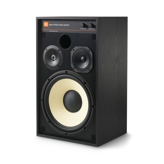 4312G - Black - 12-inch (300mm) 3-way Studio Monitor Bookshelf Loudspeaker - Detailshot 3