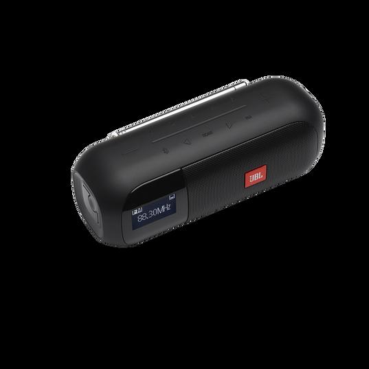 JBL Tuner 2 FM - Black - Portable FM radio with Bluetooth - Detailshot 2