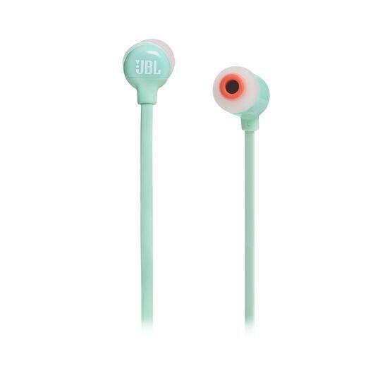 JBL TUNE 110BT - Green - Wireless in-ear headphones - Front