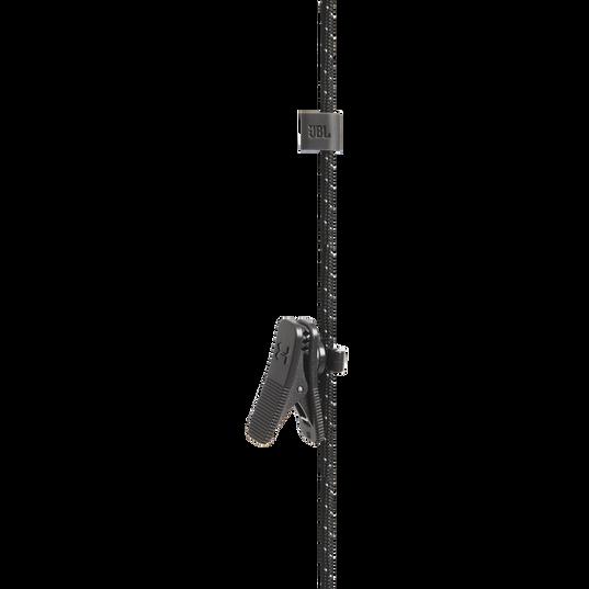 UA Sport Wireless PIVOT - Black - Secure-fitting wireless sport earphones with JBL technology and sound - Detailshot 2