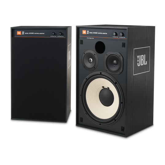 4312SE - Black - JBL 4312SE Studio Monitor Bookshelf Loudspeaker - Hero