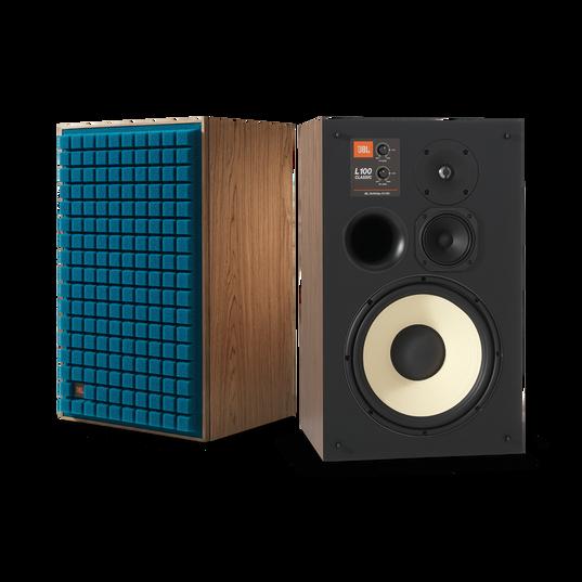 "L100 Classic - Blue - 12"" (300mm) 3-way Bookshelf Loudspeaker - Detailshot 2"