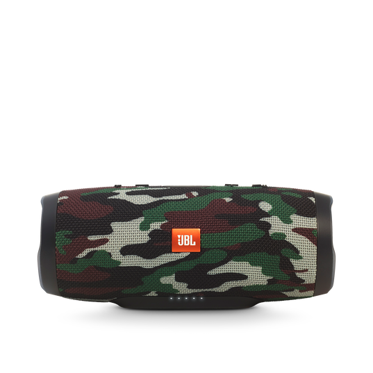 JBL Charge 3 Special Edition - Squad - Full-featured waterproof portable speaker with high-capacity battery to charge your devices - Detailshot 3