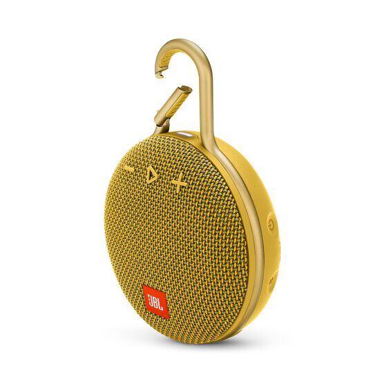 JBL CLIP 3 - Mustard Yellow - Portable Bluetooth® speaker - Hero