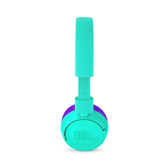 JBL JR300BT - Tropic Teal - Kids Wireless on-ear headphones - Detailshot 1
