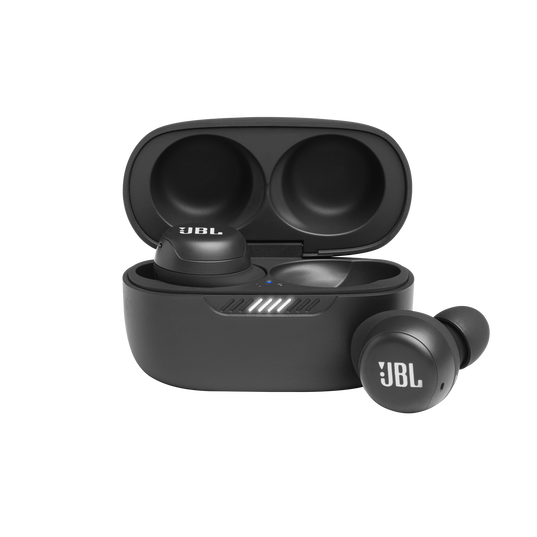 JBL Live Free NC+ TWS - Black - True wireless in-ear NC headphones - Hero