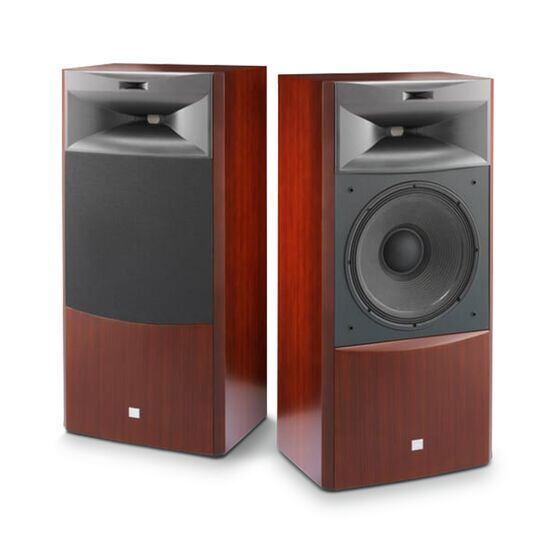"JBL S4700 - Cherry - 3-way 15"" (380mm) Floorstanding Loudspeaker - Hero"