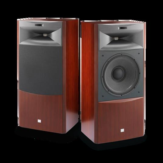 "JBL S4700 - Cherry - 3-way 15"" (380mm) Floorstanding Loudspeaker - Hero"