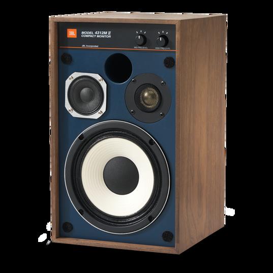 "4312MII - Brown - 5.25"" 3-way Studio Monitor Loudspeaker - Detailshot 4"
