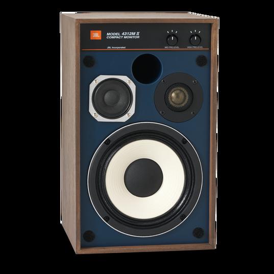 "4312MII - Brown - 5.25"" 3-way Studio Monitor Loudspeaker - Detailshot 1"