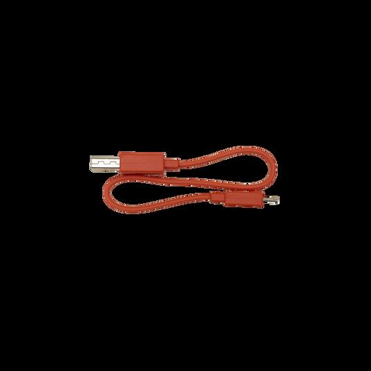 MICRO USB Cable FREE X, REFLECT FLOW, ENDURANCE PEAK, TUNE 120TWS, TUNE 125TWS - Orange - Hero