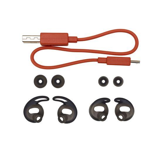 JBL REFLECT FLOW - Blue - True wireless sport headphones. - Detailshot 2