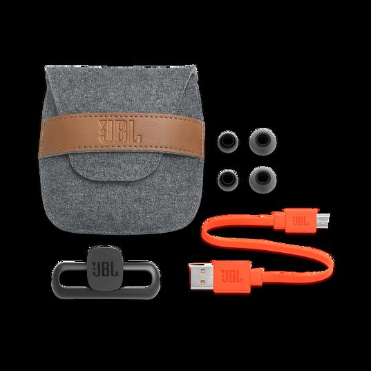 JBL Duet Mini - Black - Wireless In-Ear headphones. - Kabellose In-Ear-Kopfhörer. - Detailshot 4