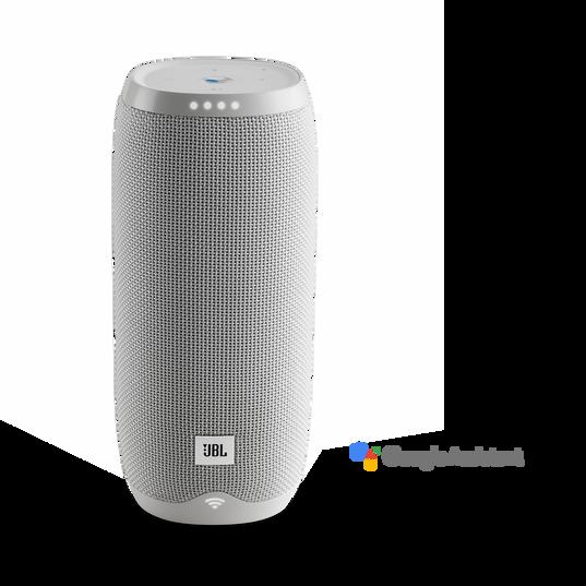 JBL Link 20 - White - Voice-activated portable speaker - Hero
