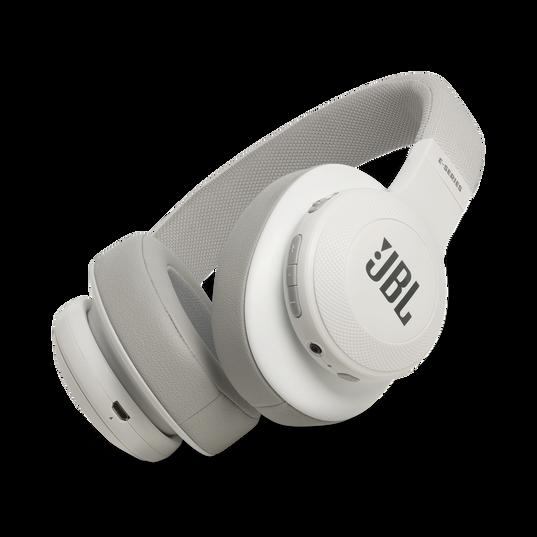JBL E55BT - White - Wireless over-ear headphones - Hero