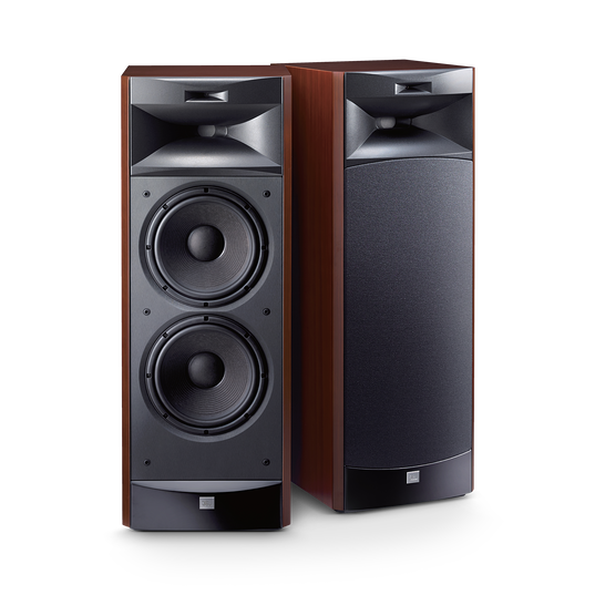 "JBL S3900 - Cherry - 3-way Dual 10"" (250mm) Floorstanding Loudspeaker - Hero"