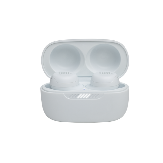 JBL Live Free NC+ TWS - White - True wireless in-ear NC headphones - Detailshot 3