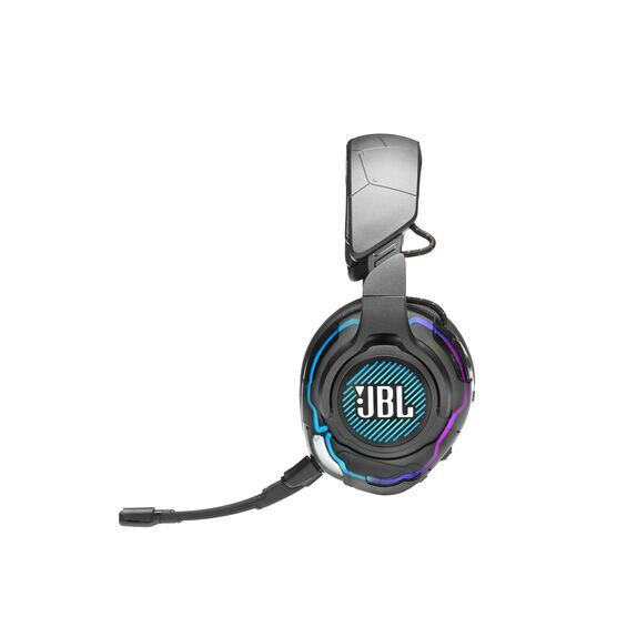 JBL Quantum ONE - Black - USB wired over-ear professional gaming headset with head-tracking enhanced JBL QuantumSPHERE 360 - Detailshot 4