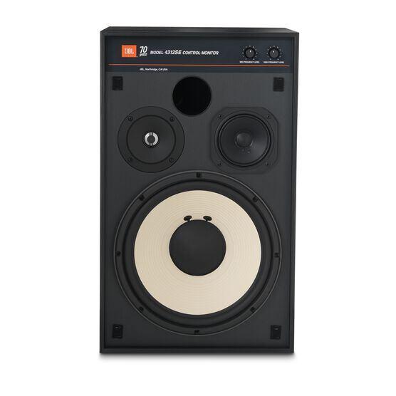 4312SE - Black - JBL 4312SE Studio Monitor Bookshelf Loudspeaker - Front