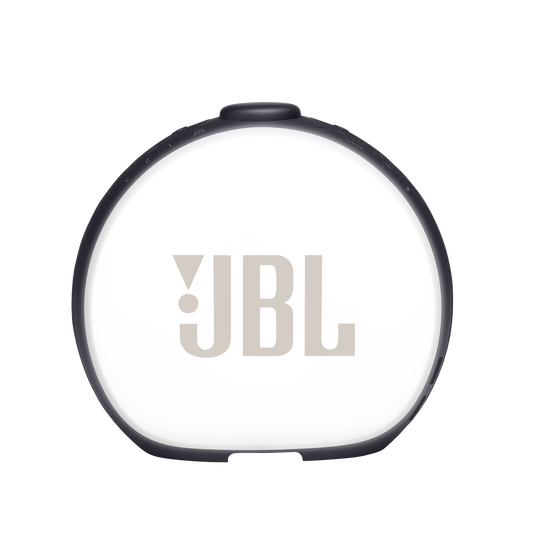 JBL Horizon 2 FM - Black - Bluetooth clock radio speaker with FM - Back