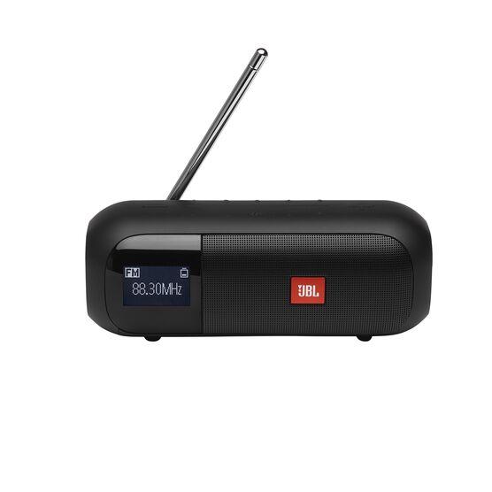 JBL Tuner 2 FM - Black - Portable FM radio with Bluetooth - Front
