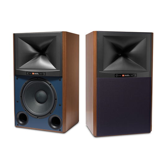 4349 - Walnut - 12-inch (300mm) 2-way Studio Monitor Loudspeaker - Hero