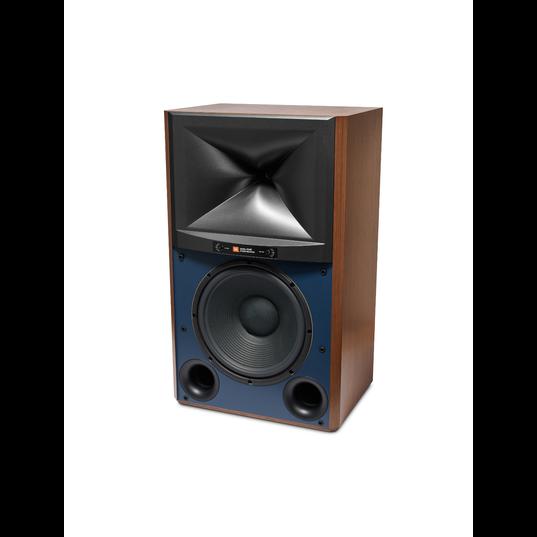 4349 - Walnut - 12-inch (300mm) 2-way Studio Monitor Loudspeaker - Left