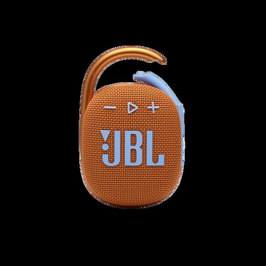 JBL CLIP 4 - Orange - Ultra-portable Waterproof Speaker - Front