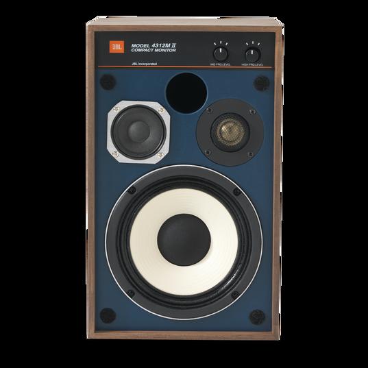 "4312MII - Brown - 5.25"" 3-way Studio Monitor Loudspeaker - Front"