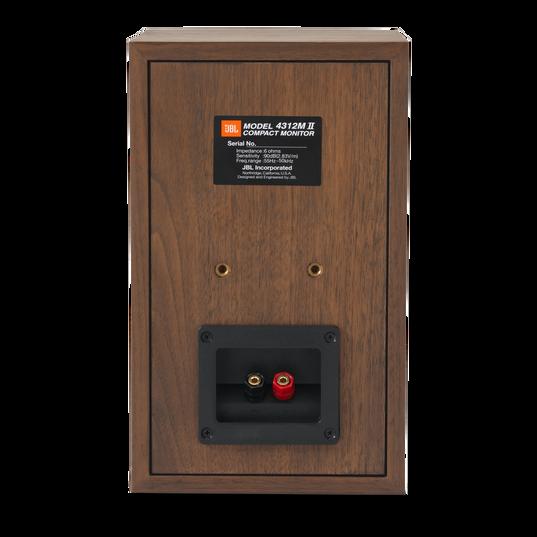 "4312MII - Brown - 5.25"" 3-way Studio Monitor Loudspeaker - Back"