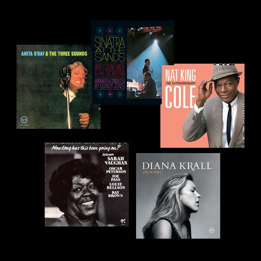 ICONIC SOUND! - The JBL 75th Anniversary Jazz Vocal Collection - Black - JBL創立75周年記念ジャズ・ヴォーカル・コレクション - Detailshot 1
